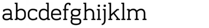Frusta Book Font LOWERCASE
