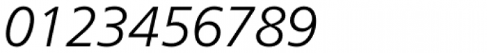 Frutiger 46 Light Italic Font OTHER CHARS