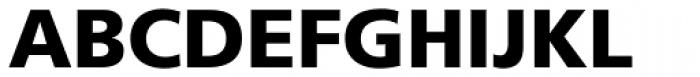 Frutiger 75 Black Font UPPERCASE