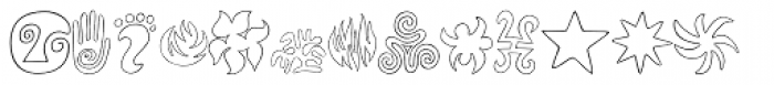 Frutiger Capitalis Signs Font UPPERCASE