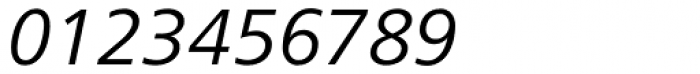 Frutiger Next Central European Italic Font OTHER CHARS