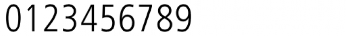 Frutiger Next Condensed Light Font OTHER CHARS