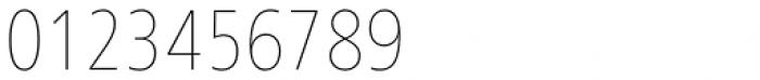 Frutiger Next Cyrillic Condensed Ultra Light Font OTHER CHARS