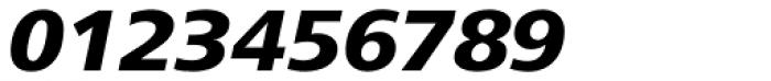 Frutiger Next Heavy Italic Font OTHER CHARS