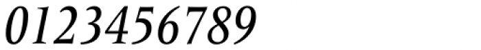 Frutiger Serif Pro Condensed Medium Italic Font OTHER CHARS