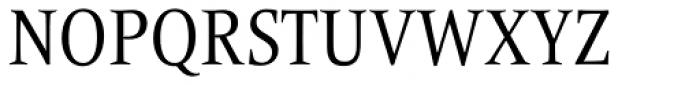 Frutiger Serif Pro Condensed  Font UPPERCASE