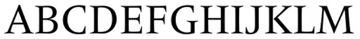 Frutiger Serif Pro Font UPPERCASE