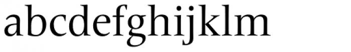 Frutiger Serif Pro Font LOWERCASE