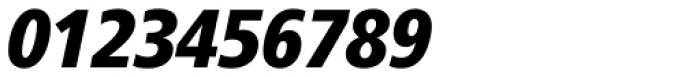 Frutiger Std 88 Extra Black Condensed Italic Font OTHER CHARS