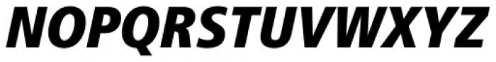Frutiger Std 88 Extra Black Condensed Italic Font UPPERCASE
