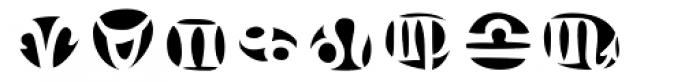 Frutiger Symbols Negative Font OTHER CHARS