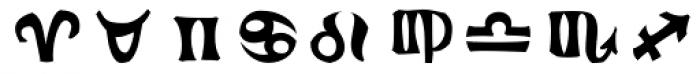 Frutiger Symbols Positive Font OTHER CHARS