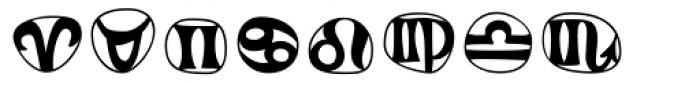 Frutiger Symbols Font OTHER CHARS