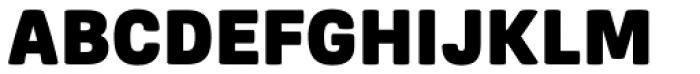 Frygia Black Font UPPERCASE