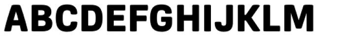 Frygia Heavy Font UPPERCASE