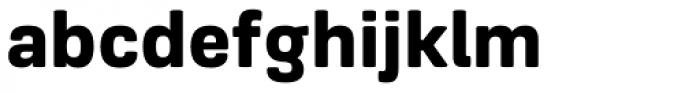 Frygia Heavy Font LOWERCASE