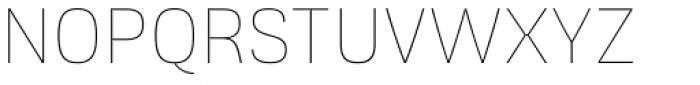 Frygia Thin Font UPPERCASE