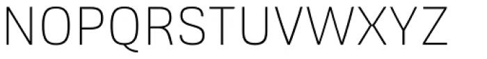 Frygia XLight Font UPPERCASE