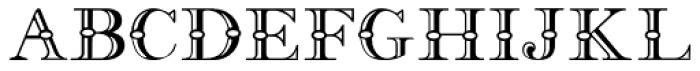 Fry's Alphabet Font UPPERCASE