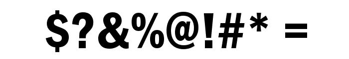 Franklin Gothic Demi Cond Font
