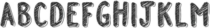 FSY Doodle Marker ttf (400) Font UPPERCASE