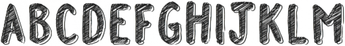 FSY Doodle Marker ttf (400) Font LOWERCASE
