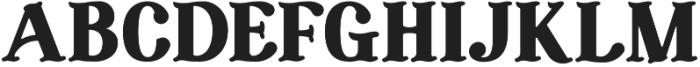 FSY Resurgence otf (400) Font UPPERCASE