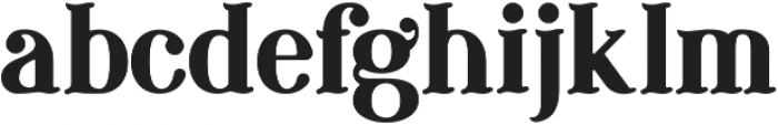 FSY Resurgence ttf (400) Font LOWERCASE