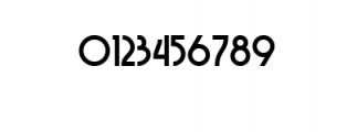 FSY DEKO v1.02.ttf Font OTHER CHARS