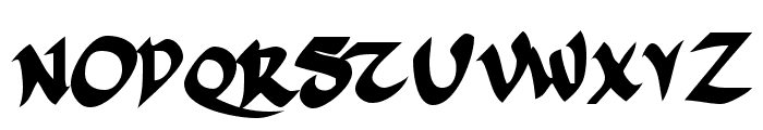 FSO incompetent apprentice Font UPPERCASE