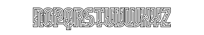 fs lost Regular Font UPPERCASE