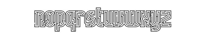 fs lost Regular Font LOWERCASE