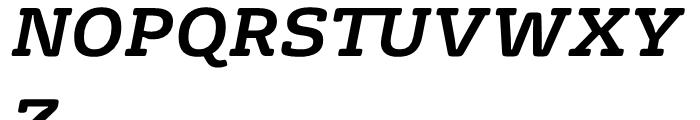 FS Rufus Bold Italic Font UPPERCASE