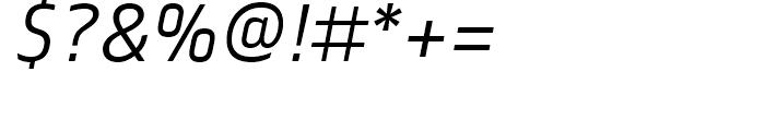FS Truman Light Italic Font OTHER CHARS