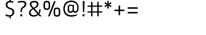 FS Truman Light Font OTHER CHARS
