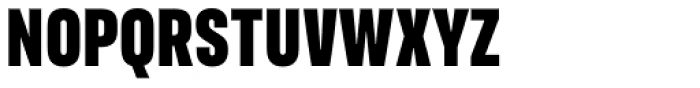 FS Industrie Condensed Black Font UPPERCASE