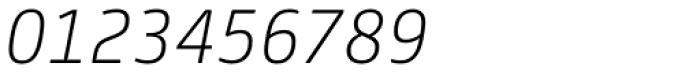 FS Joey Light Italic Font OTHER CHARS
