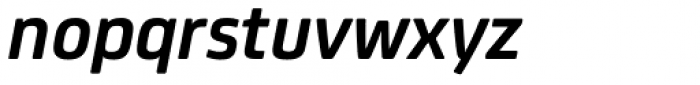 FS Joey Pro Bold Italic Font LOWERCASE