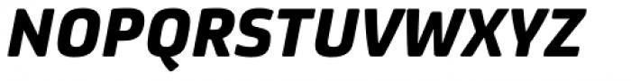 FS Joey Pro Heavy Italic Font UPPERCASE