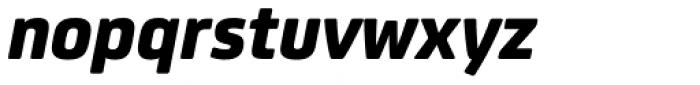 FS Joey Pro Heavy Italic Font LOWERCASE