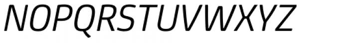 FS Joey Pro Italic Font UPPERCASE