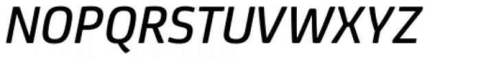 FS Joey Pro Medium Italic Font UPPERCASE