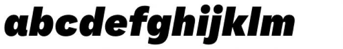 FS Koopman Black Italic Font LOWERCASE