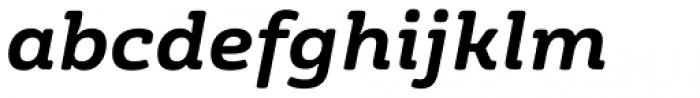 FS Rufus Bold Italic Font LOWERCASE