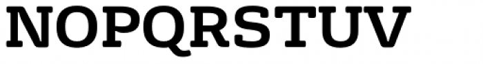 FS Rufus Bold Font UPPERCASE