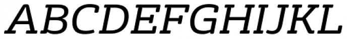 FS Rufus Italic Font UPPERCASE
