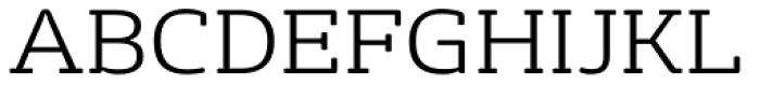 FS Rufus Light Font UPPERCASE