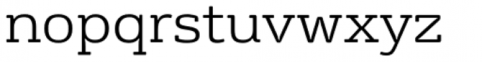 FS Rufus Light Font LOWERCASE