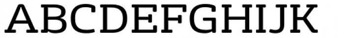 FS Rufus Regular Font UPPERCASE