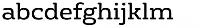 FS Rufus Regular Font LOWERCASE